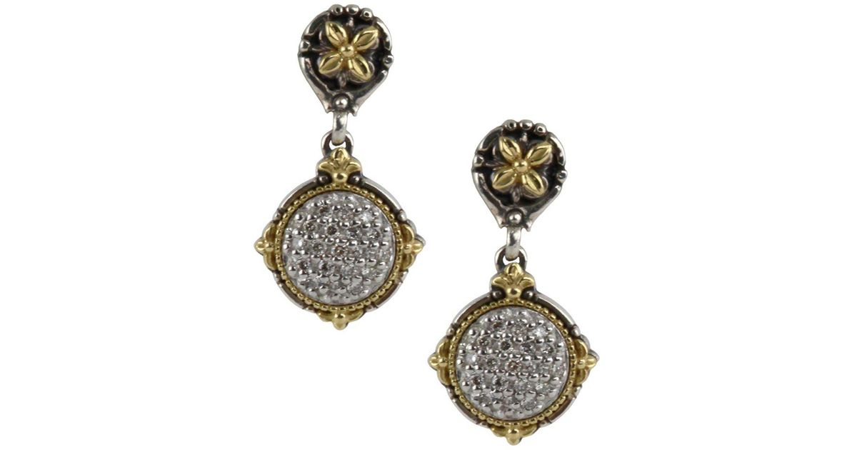 Konstantino Asteri Pave Black Diamond & Onyx Double-Drop Earrings wsxwRQbuil