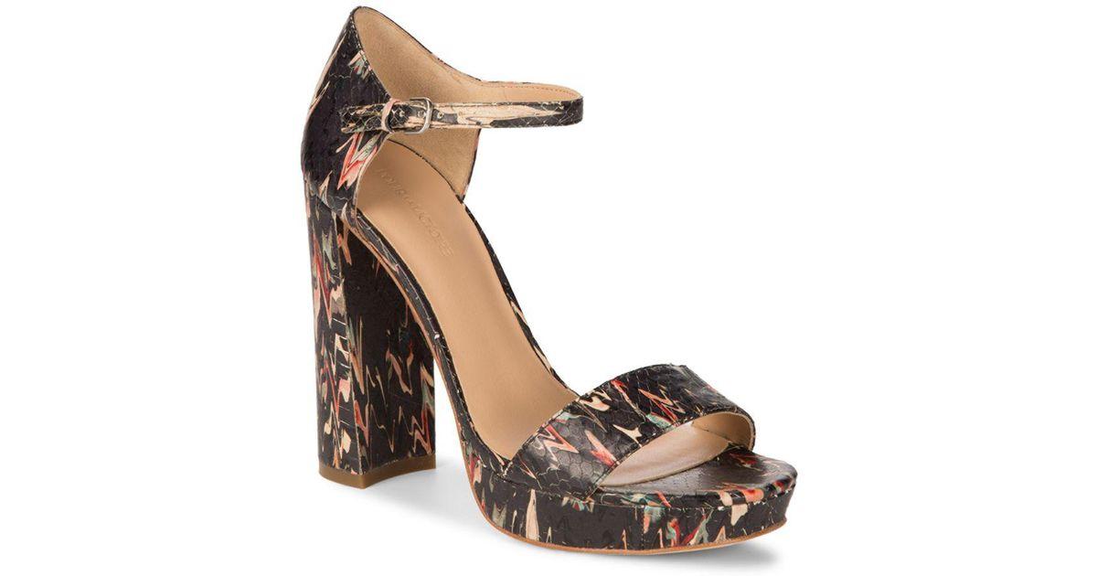 bd5cb5ff780701 Lyst - Pour La Victoire Yvette Platform Ankle-strap Sandals