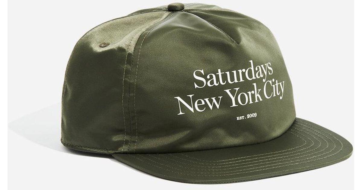d7af7a1982e5d Saturdays NYC Stanley Miller Satin Hat for Men - Lyst