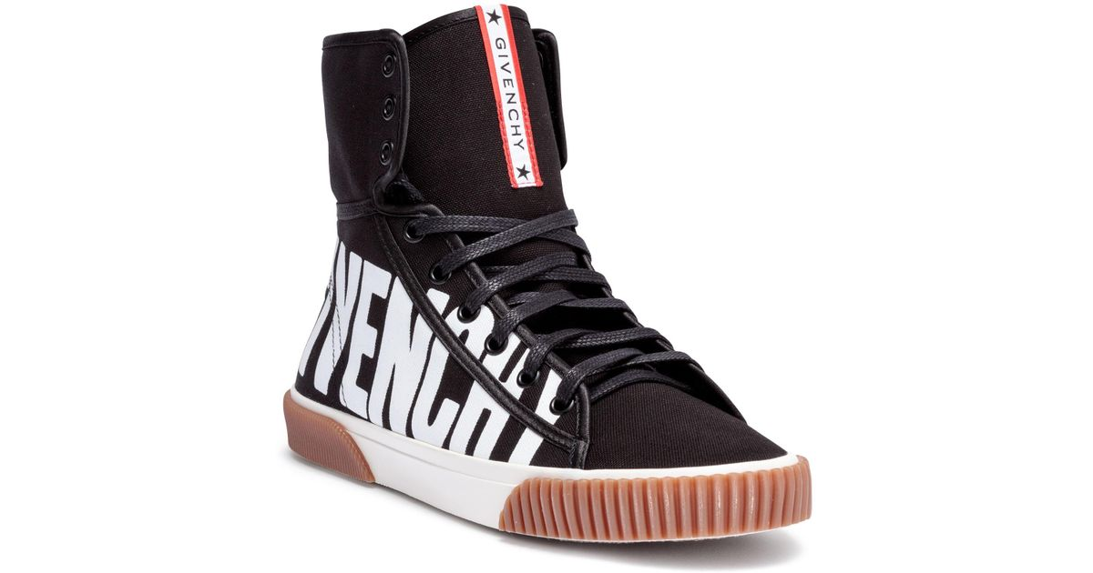 Cheap Sale Enjoy Givenchy Logo Boxing Sneakers Buy Online Authentic BGilh711W