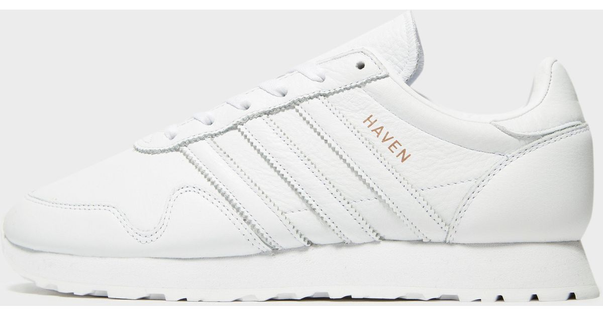71a360b404e282 Lyst - adidas Originals Haven Leather in White for Men