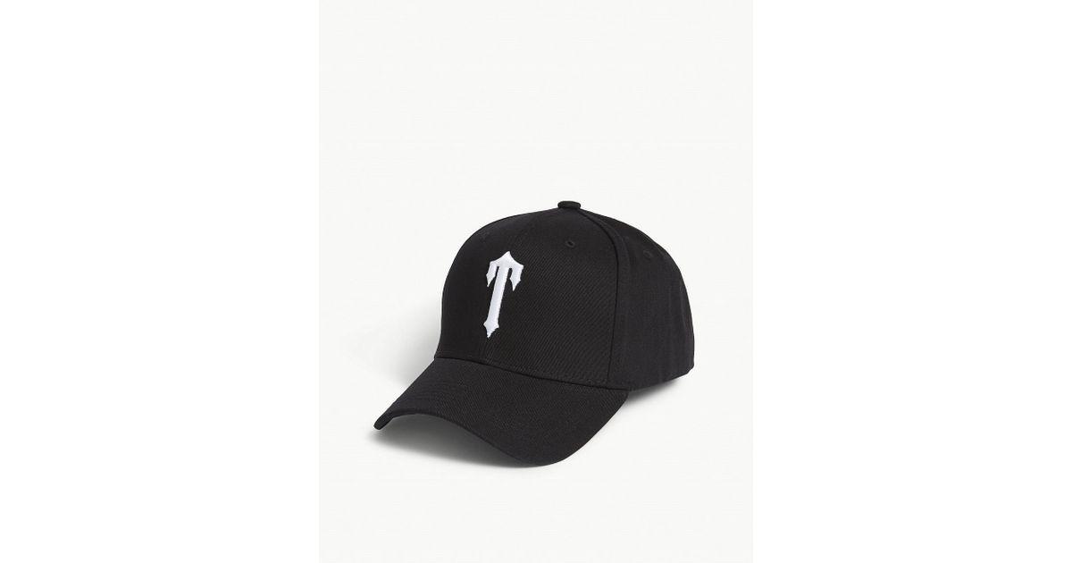 dafa7532f6d Lyst - Trapstar T Logo Snapback Cap in Black for Men