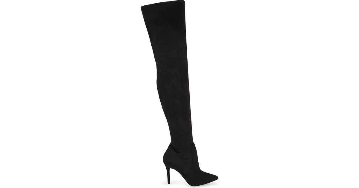 e4407299c8f Lyst - ALDO Sailors Over-the-knee Boots in Black