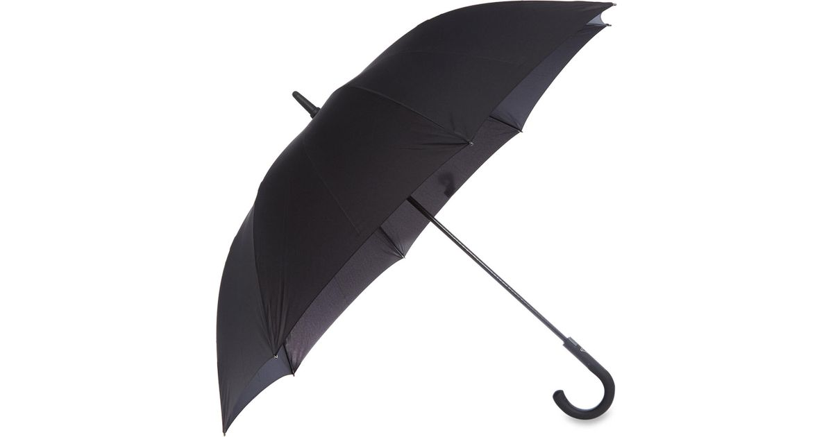 Lyst - Fulton Knightsbridge Crook Handle Umbrella in Black 7c8b798b21ed5