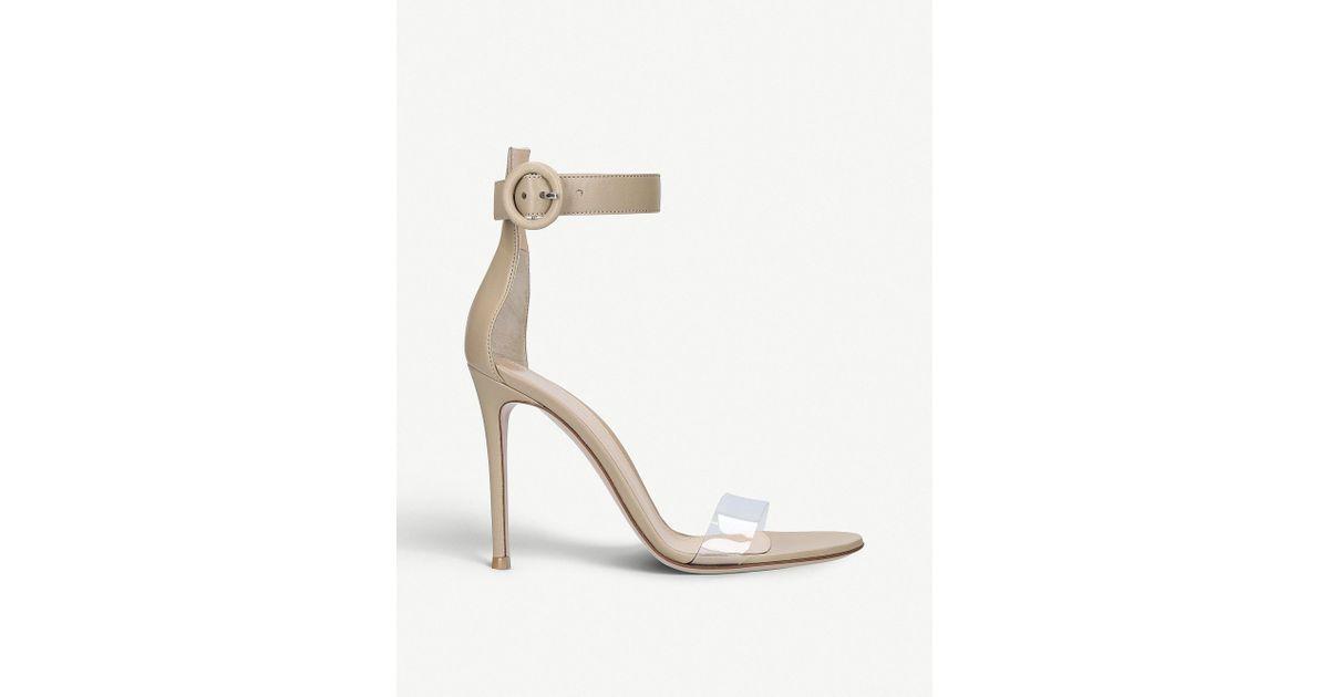 Stella 85 suede sandals Gianvito Rossi coy0DZ5C