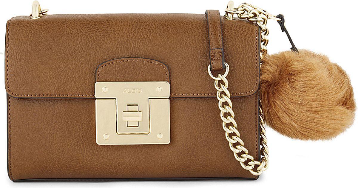 e745d968cf2 ALDO Chirade Shoulder Bag in Brown - Lyst