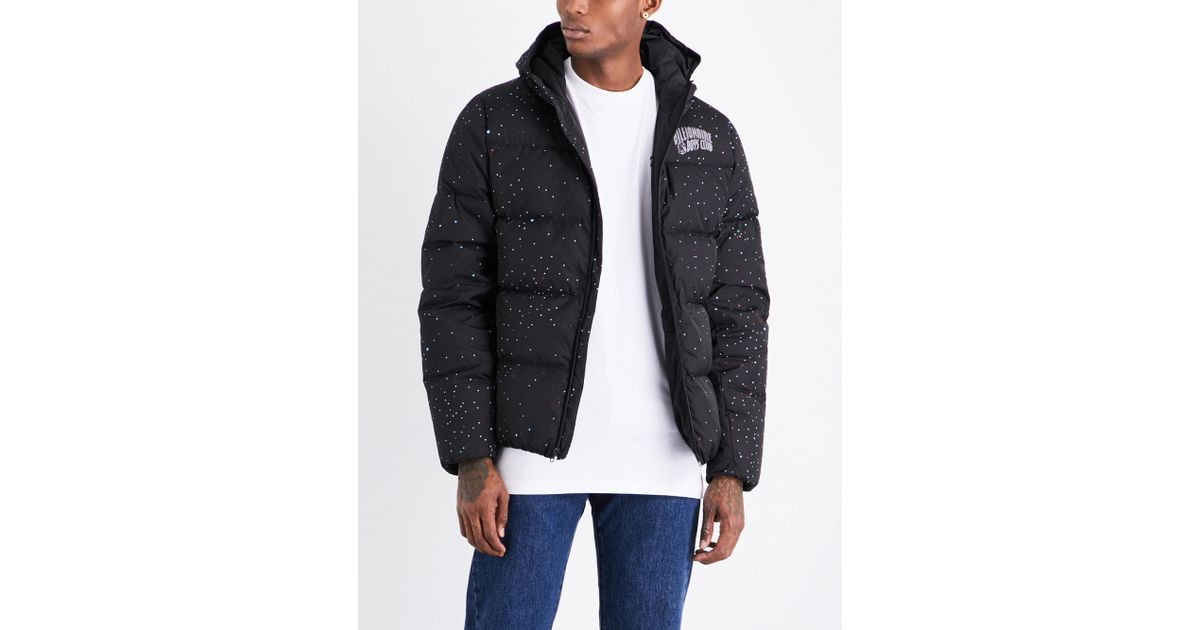 Lyst - Billionaire Boys Club - Ice Cream Galaxy Quilted Hooded Shell Jacket  in Black for Men