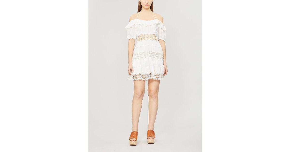 2bb535d0c98 Free People Cruel Intentions Mini Dress in White - Save 47% - Lyst