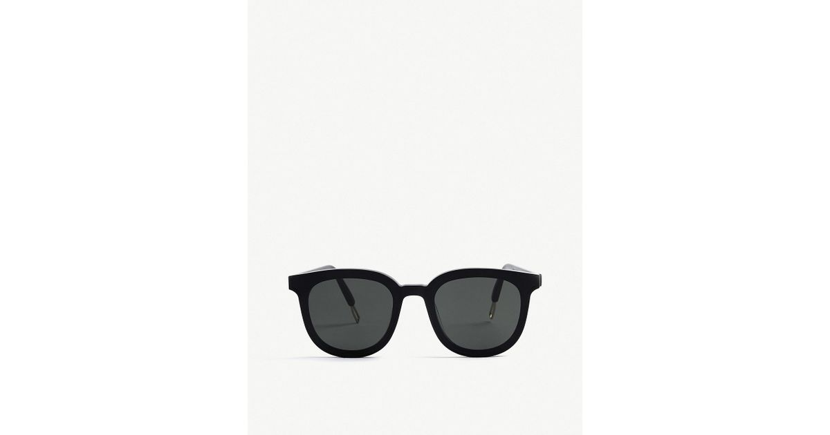 5e8c5a6c246 Lyst - Gentle Monster Ma Mars Tinted Round-frame Sunglasses in Black