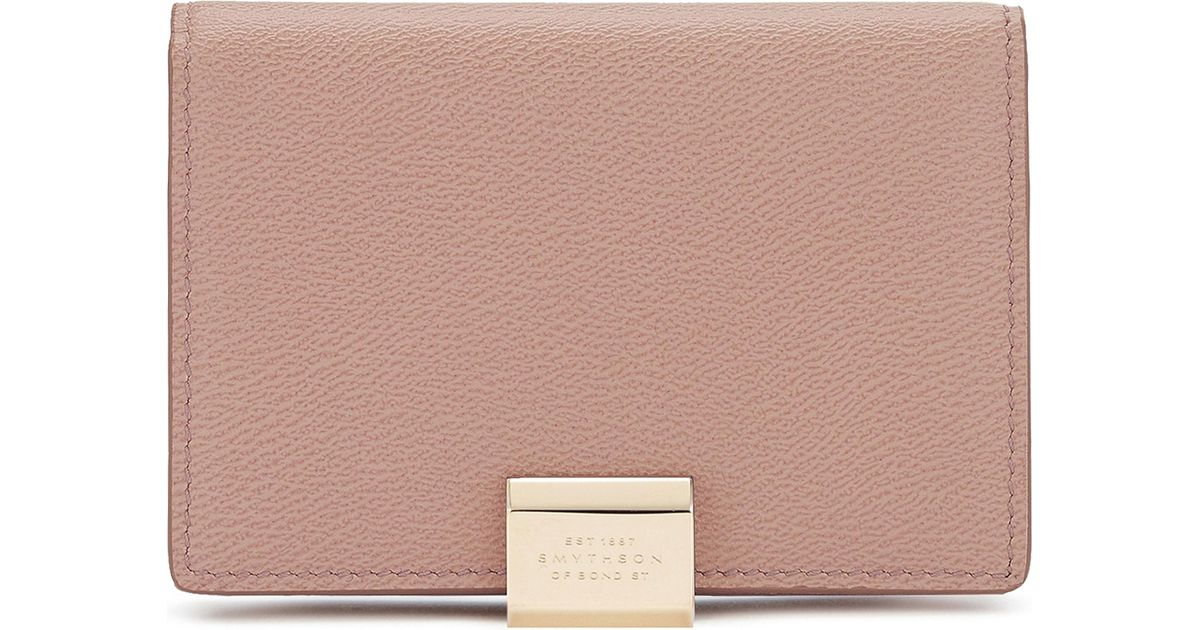Smythson Grosvenor Business And Credit Card Case | Lyst