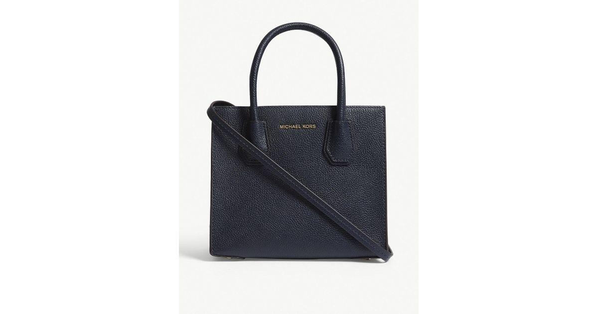 4f634c785314 MICHAEL Michael Kors - Multicolor Michael Kors Ladies Admiral Black Grained  Timeless Mercer Leather Shoulder Bag - Lyst