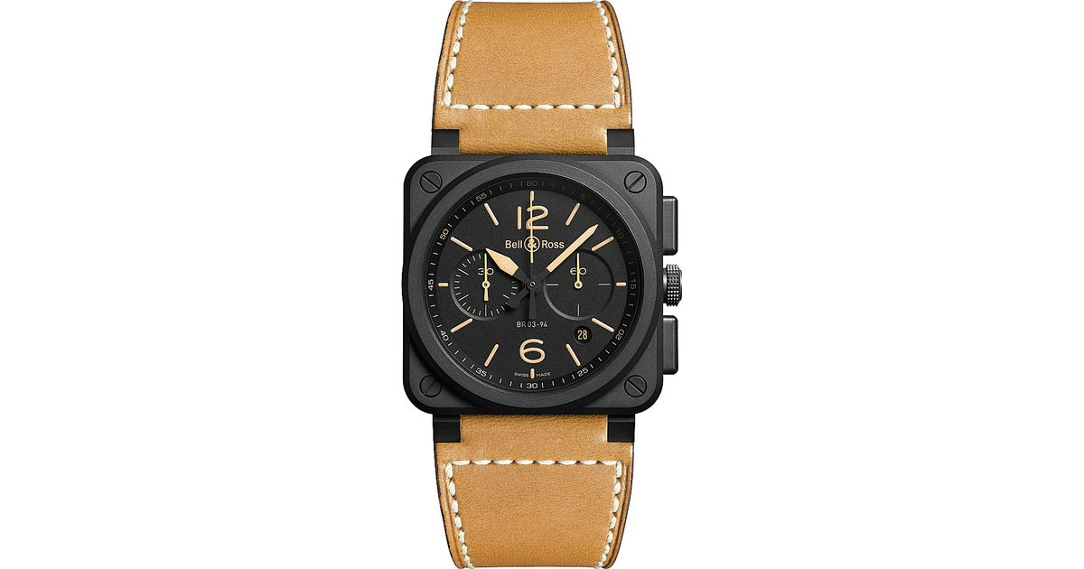 bell and ross watches selfridges