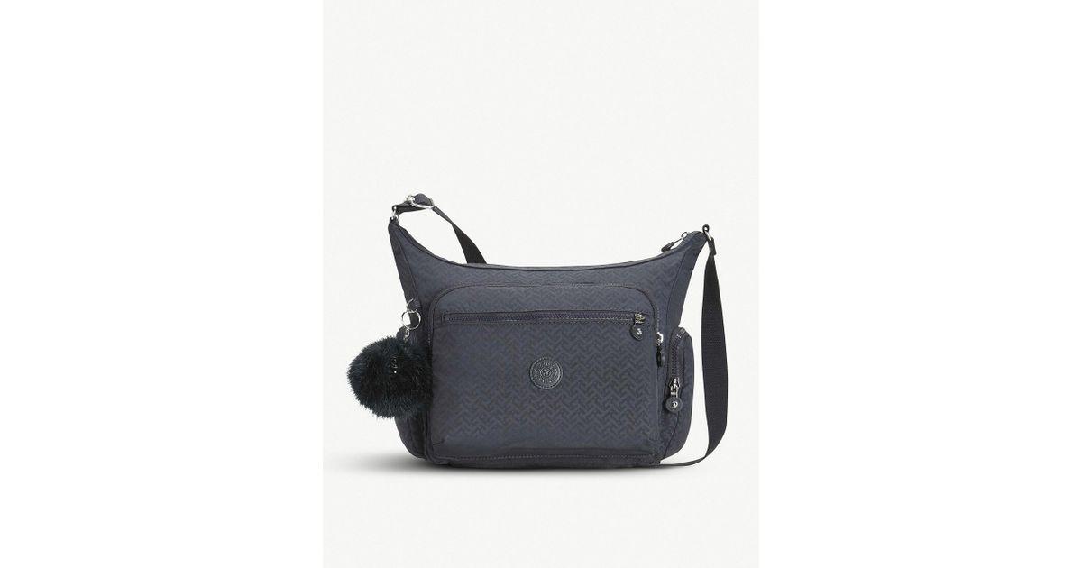 fef78fdc62 Lyst - Kipling Gabbie Large Nylon Shoulder Bag in Blue