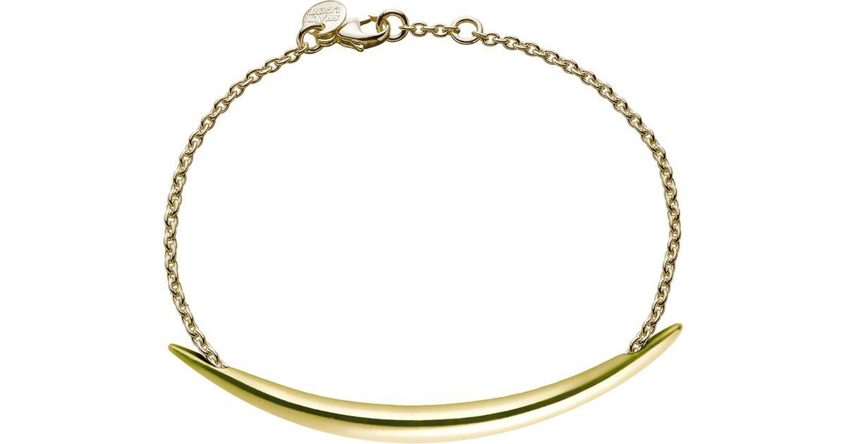 Shaun Leane Quill leather bracelet - Metallic gnlhZiB6i