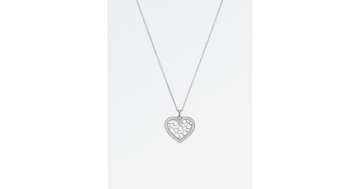 Lyst bucherer jewellery infinite love 18ct white gold diamond lyst bucherer jewellery infinite love 18ct white gold diamond pendant necklace in white aloadofball Image collections