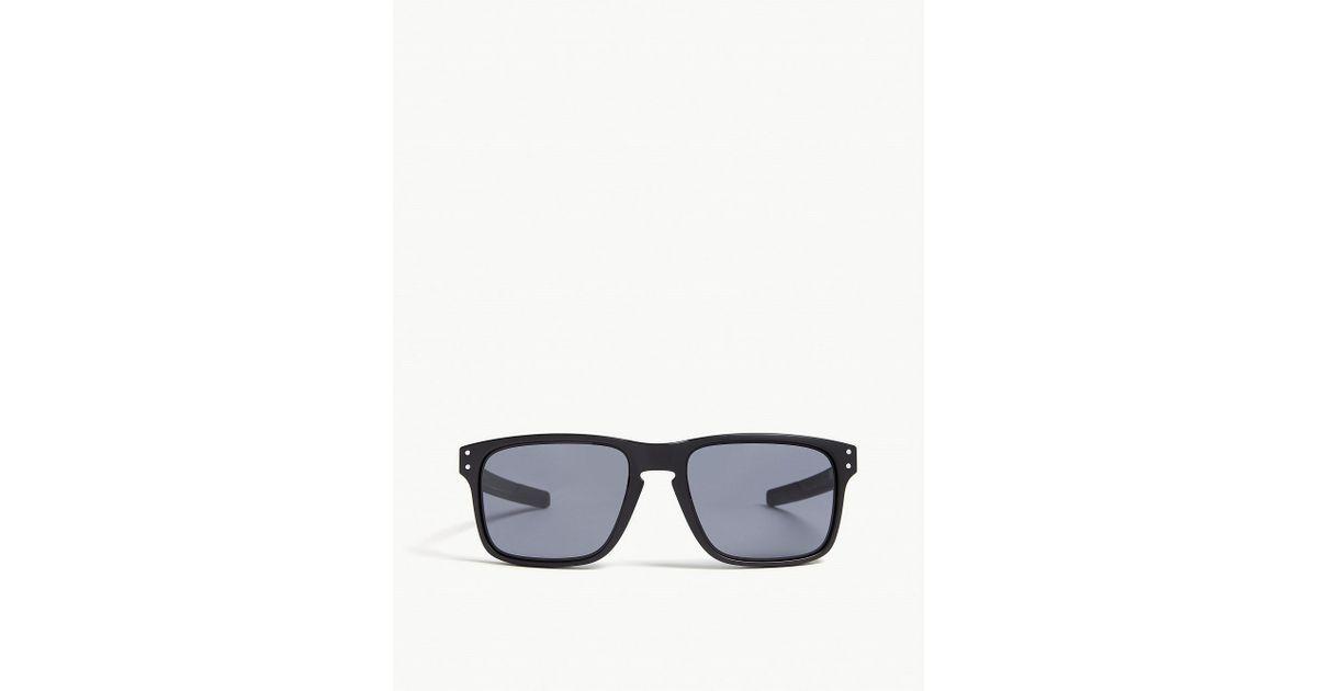 225fb6d653 Oakley Mens Black Holbrook Mix Square-frame Sunglasses in Black for Men -  Lyst