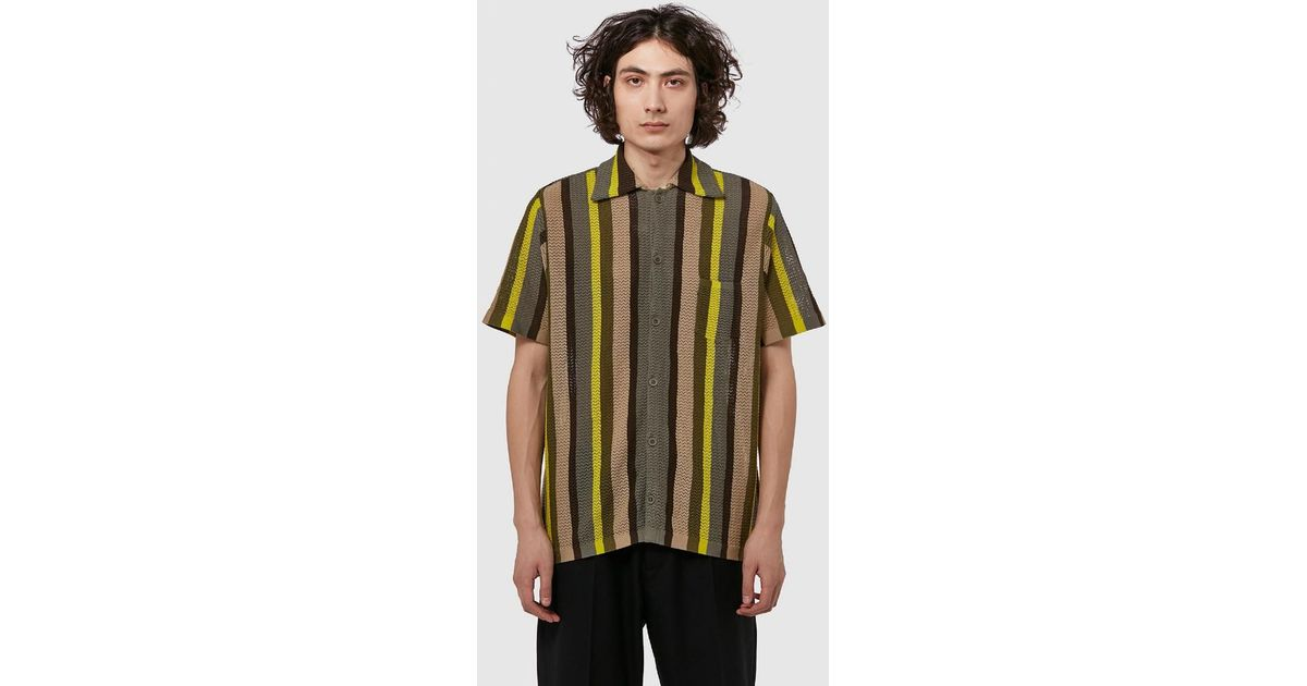 b250a3b323 Cmmn Swdn Wes Knit Short Sleeve Shirt for Men - Save 1% - Lyst