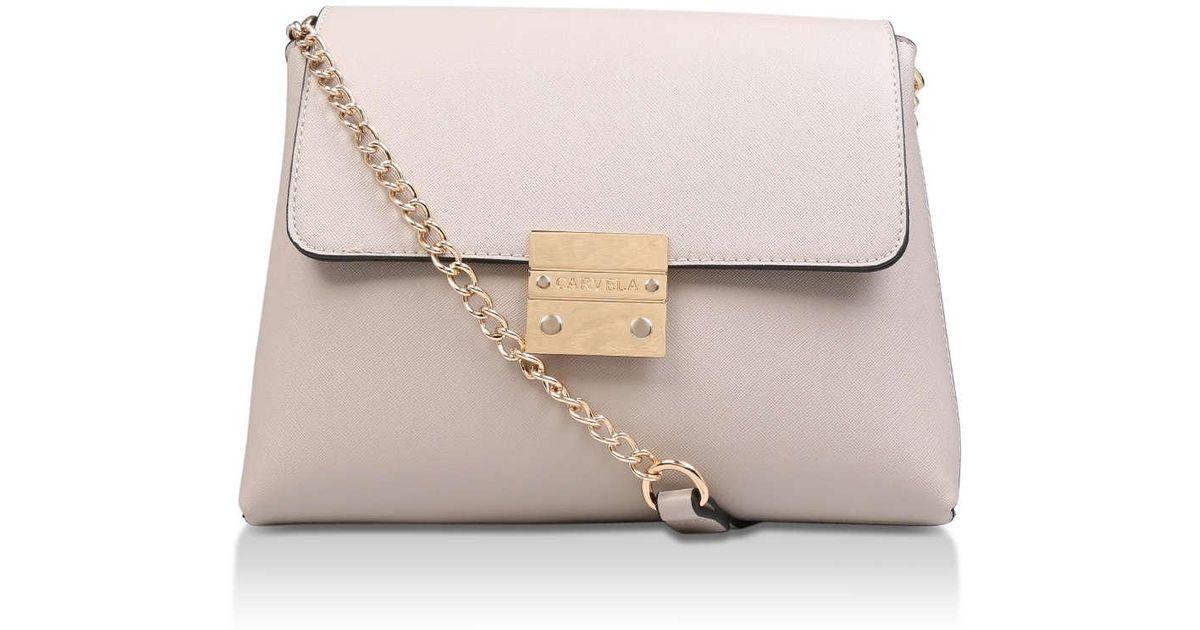 87b67060fa6 Carvela Kurt Geiger Blink Chain Handle Bag - Lyst