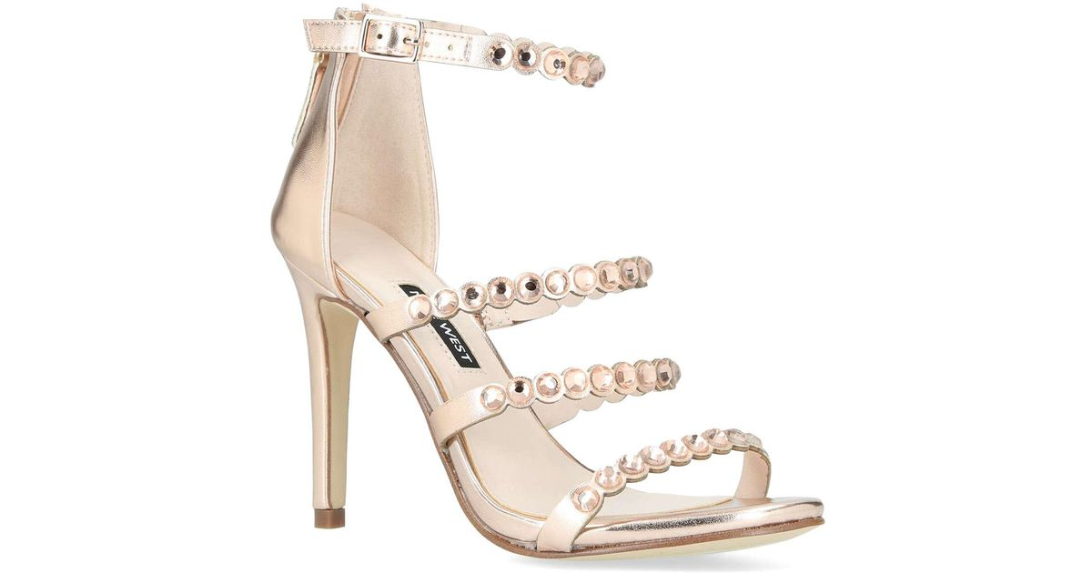 47d3e6b1ffd7 Nine West Vandison in Metallic - Lyst