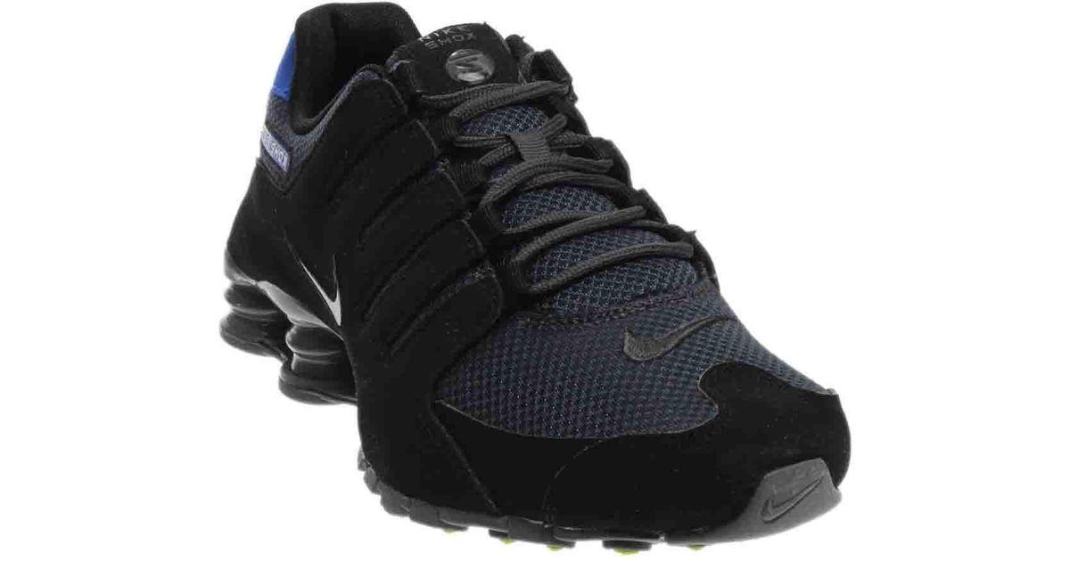 Lyst - Nike Shox Nz Se in Black for Men be192ce7c8