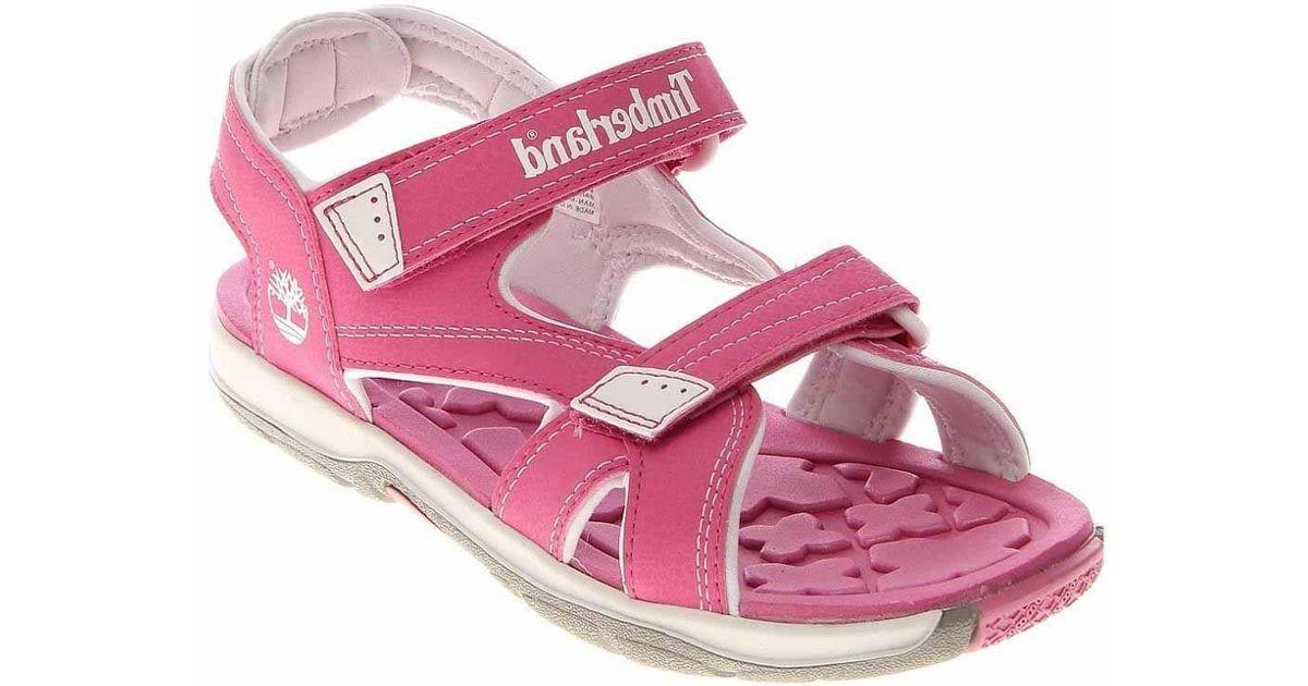 Toddler Men Mad Pink Timberland For Lyst River Sandals Strap 2 ukOiZPX