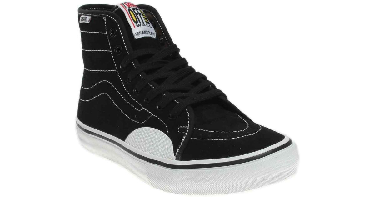 Lyst - Vans Av Classic High Pro in Black for Men 71061df82