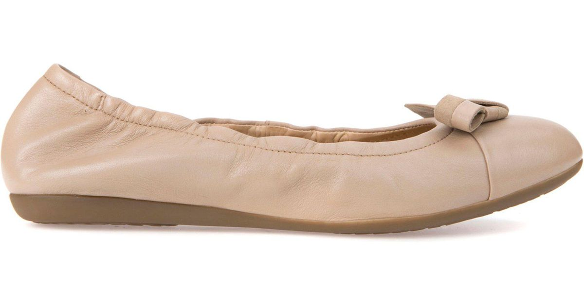 8dc2a74ea59 Geox D Lola 2fit in Natural - Lyst