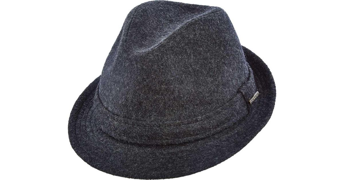 4487295ed0a37 Lyst - Stetson Stw256 Blend Fedora in Gray for Men