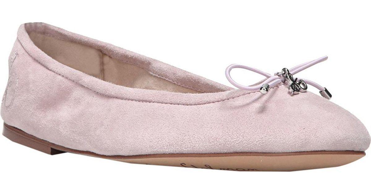 6f456b6ad45302 Lyst - Sam Edelman Felicia Ballet Flat in Pink