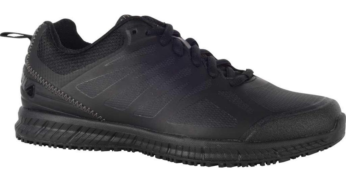 808bc187d5a0 Lyst - Fila Memory Bouncelight Slip-resistant Jogger Sneaker in Black
