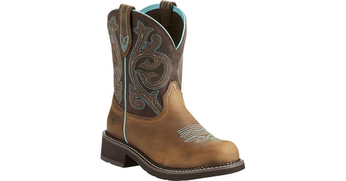 02787ea861d Ariat - Brown Fatbaby Heritage - Lyst