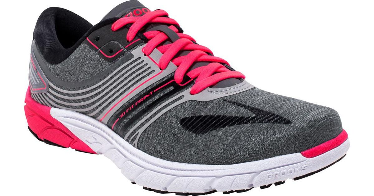 1853af36a6295 Lyst - Brooks Purecadence 6 Running Shoe in Pink