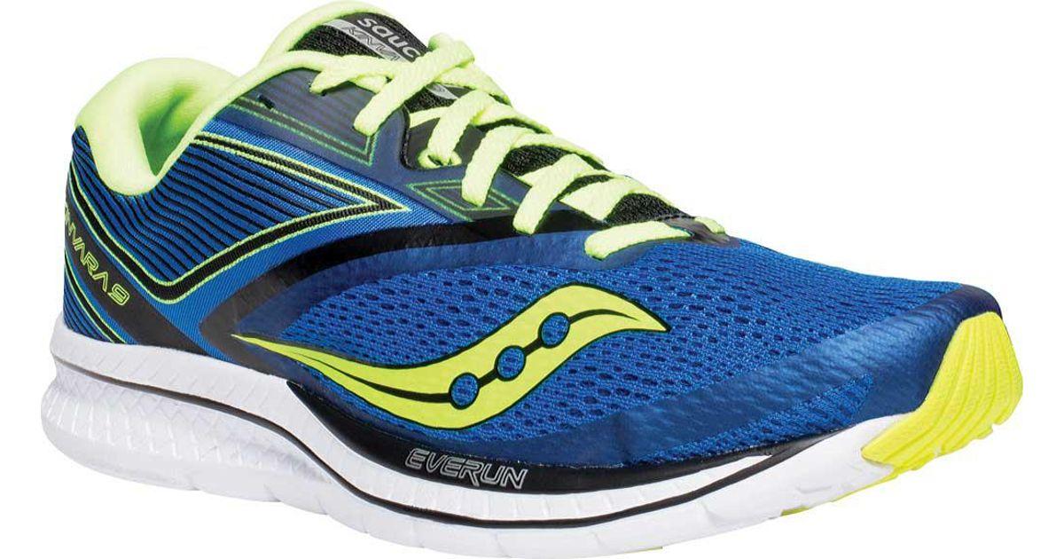 6d1e5a128d0e Lyst - Saucony Kinvara 9 Running Sneaker in Blue for Men