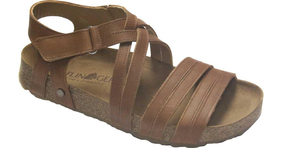 Cheap Low Price Fee Shipping Haflinger Hannah Strappy Sandal(Women's) -Berry Leather Enjoy For Sale Fashionable Buy Cheap For Cheap c6RKvvfwU
