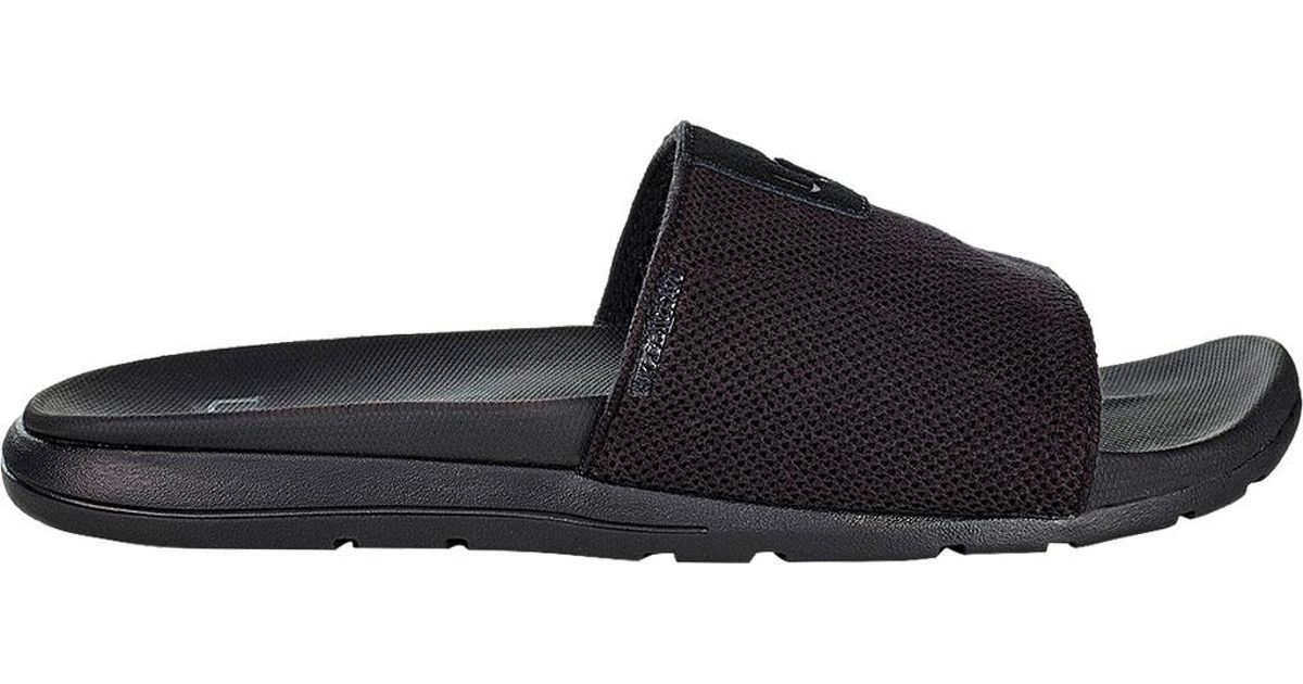 546b8e777d8 Ugg - Black Xavier Hyperweave Slide for Men - Lyst