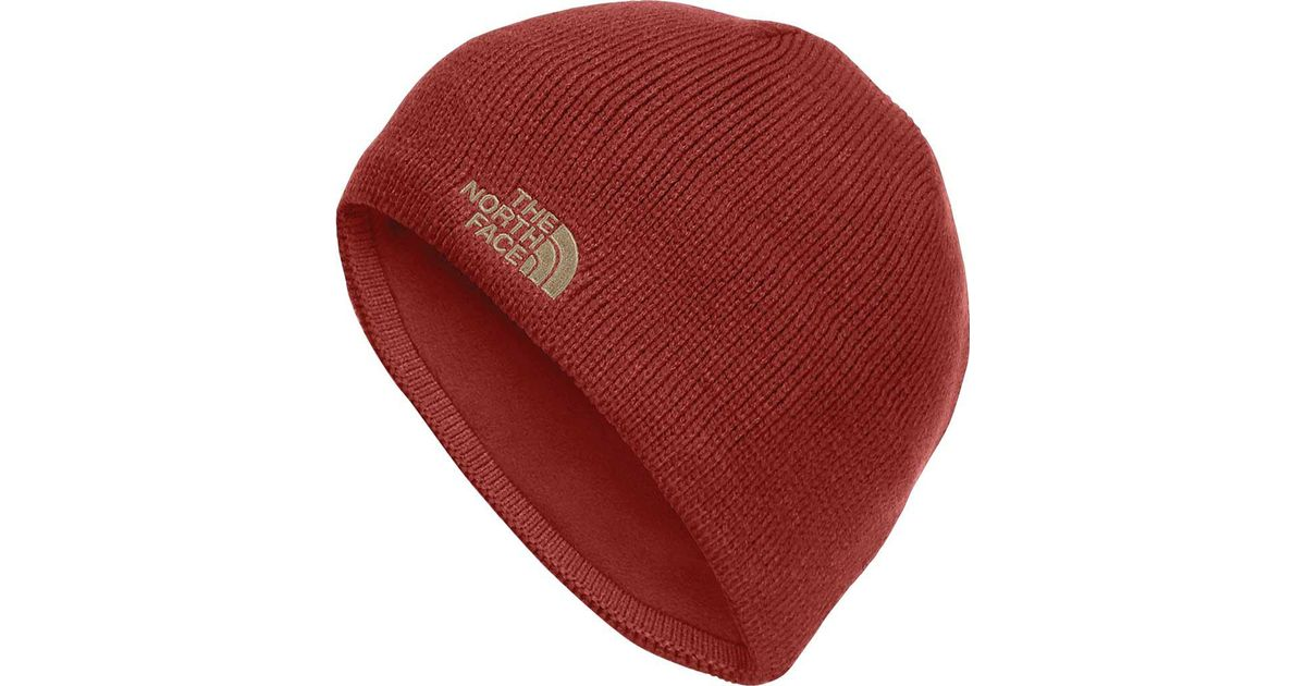 Lyst - The North Face Bones Beanie in Red for Men 449dc97ce6a0