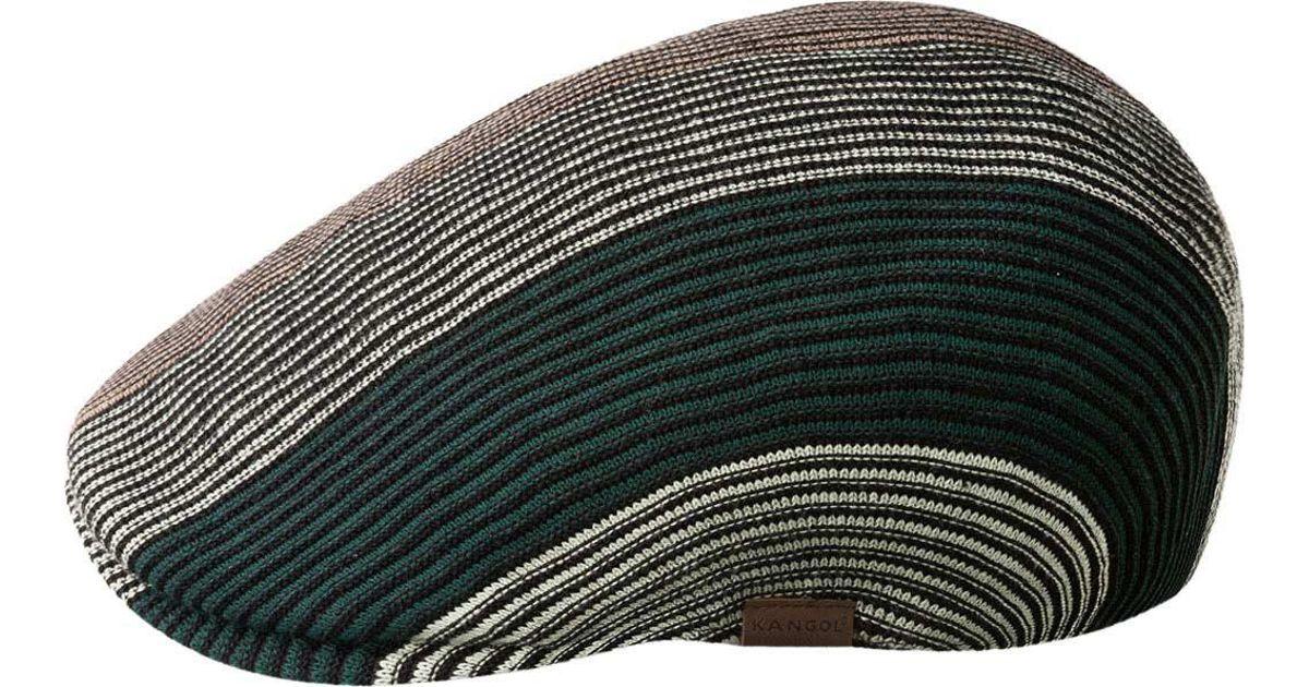 1245216f7a003 Lyst - Kangol Conduit Stripe 507 Flat Cap for Men