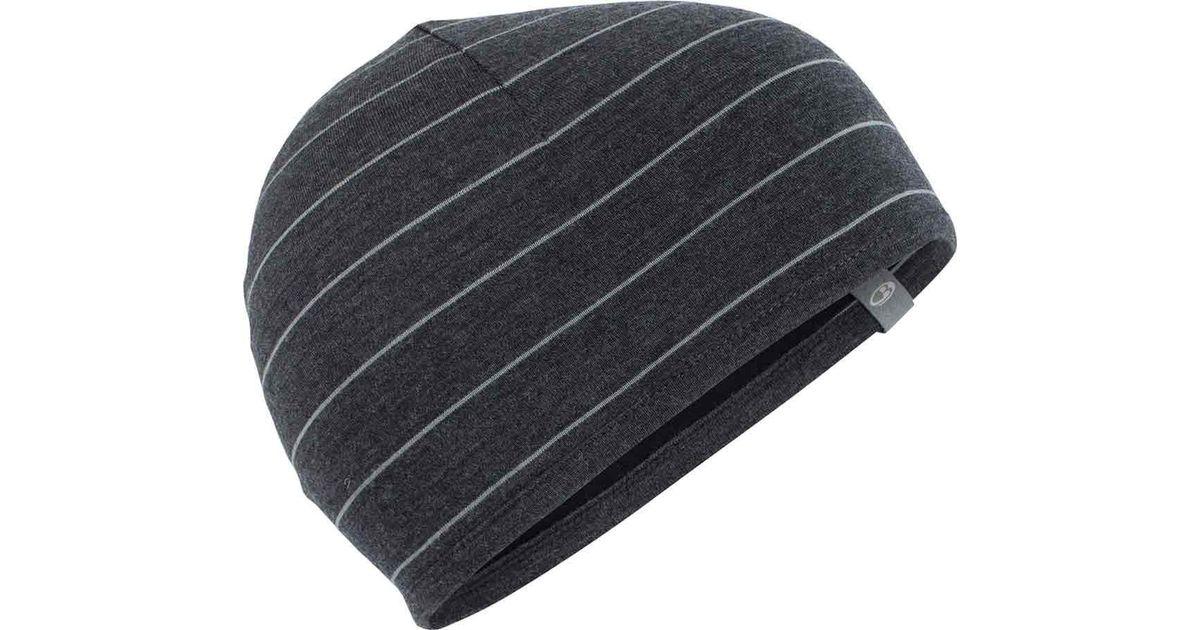 Lyst - Icebreaker Pocket Hat in Black for Men 85efd73df8c