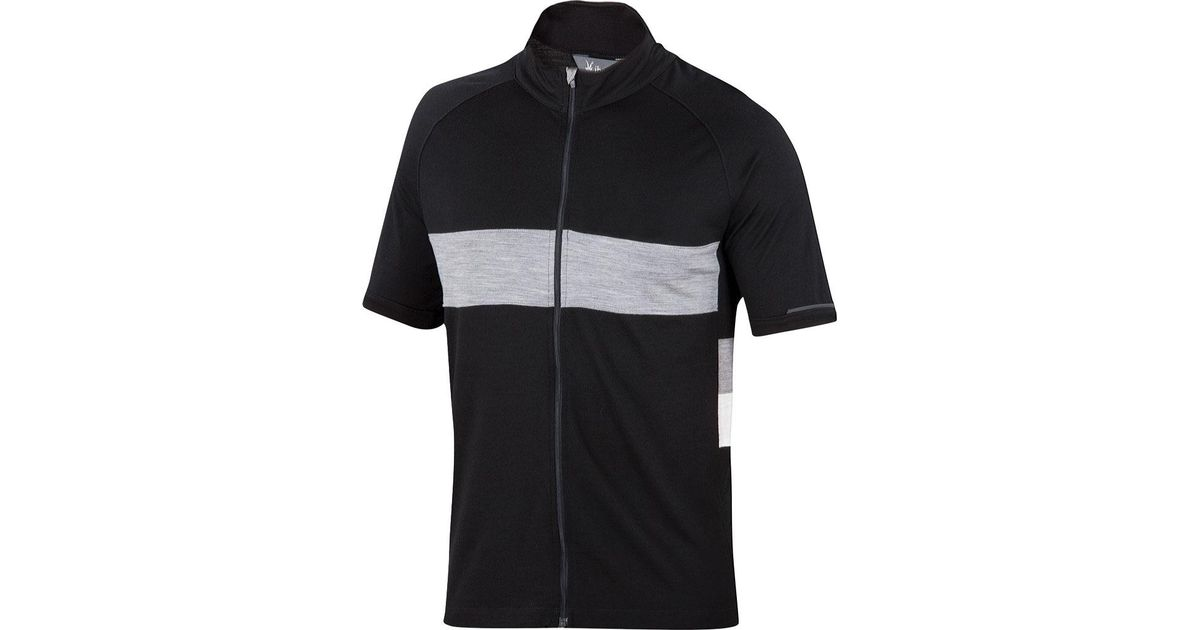 Lyst - Ibex Spoke Full Zip Cycling Jersey in Black for Men b99bed275