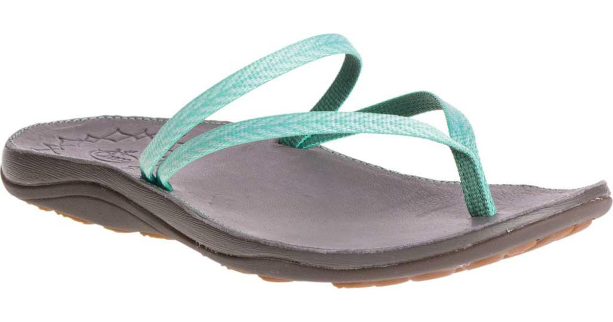 20c1374f9 Lyst - Chaco Abbey Thong Sandal - Save 23.4375%