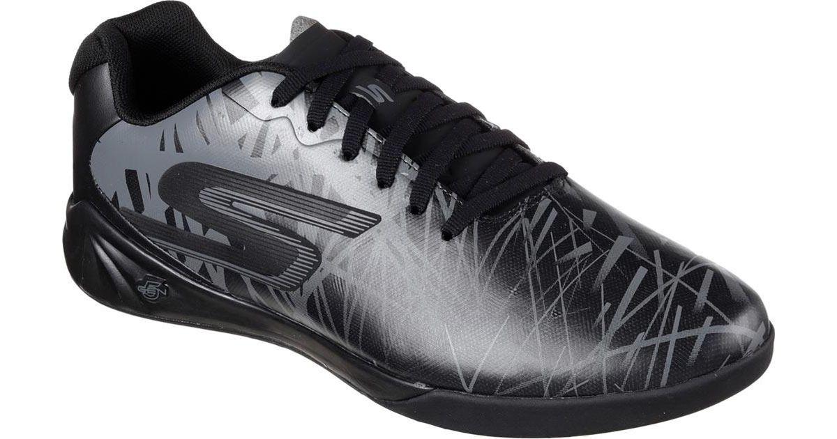 c0a7d0cb0 Lyst - Skechers Performance Soccer Leverage Powerplay Indoor Shoe in Black  for Men