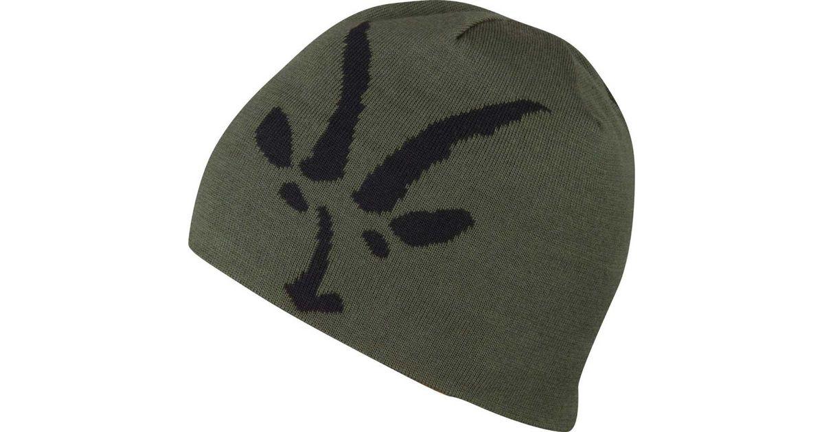 8ae53151d9a1 Lyst - Ibex Knit Logo Beanie for Men