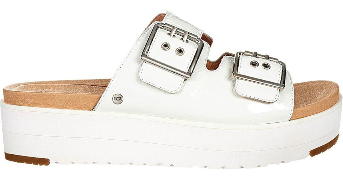 19fc714dc67 Lyst - UGG Cammie Slide in White