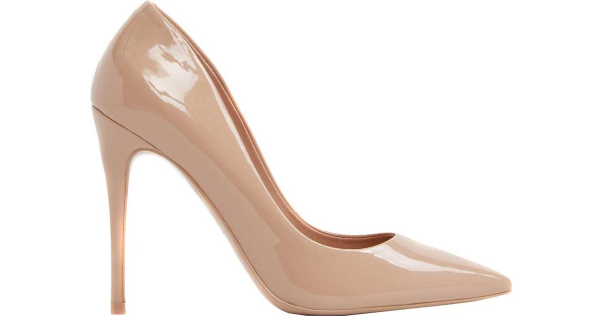 903023a9485 Lyst - ALDO Stessy Pump in Brown