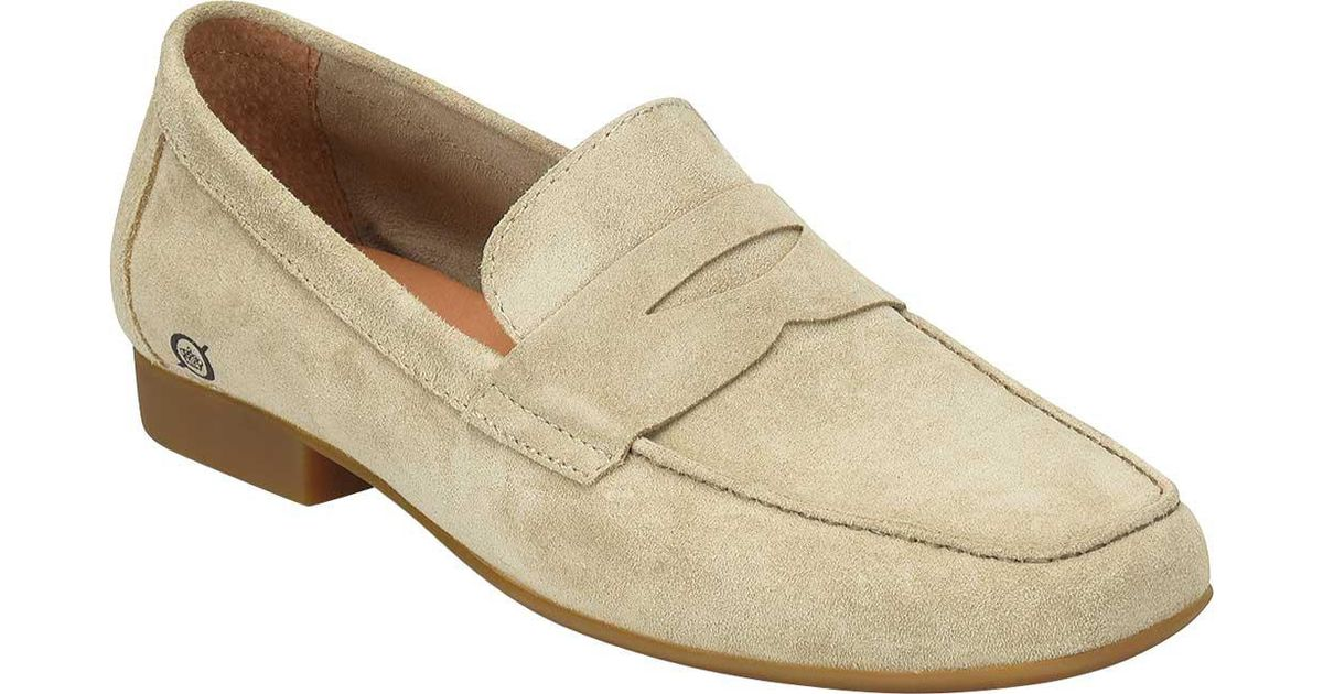 69d41afb9b8 Lyst - Born Dave Penny Loafer in Natural for Men