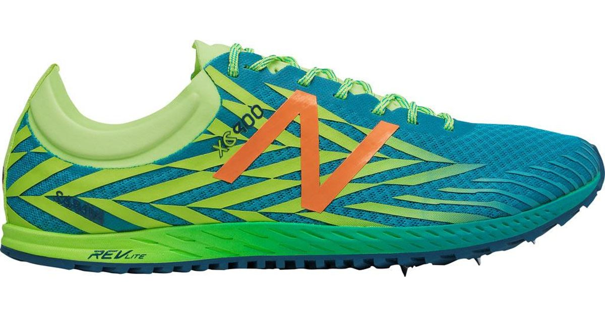 3cfb9df7 New Balance - Green Wxc900v4 Cross Country Spike for Men - Lyst