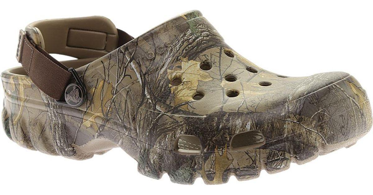 cc47ce3790f2 Lyst - Crocs™ Offroad Sport Realtree Xtra Clog