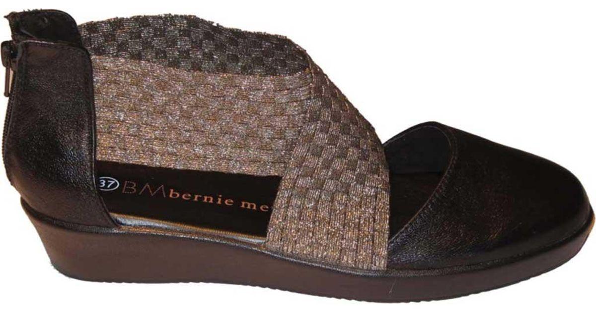 Bernie Mev Adele Closed Toe Sandal(Women's) -Black Quality For Sale Free Shipping Online Shop K3HFq