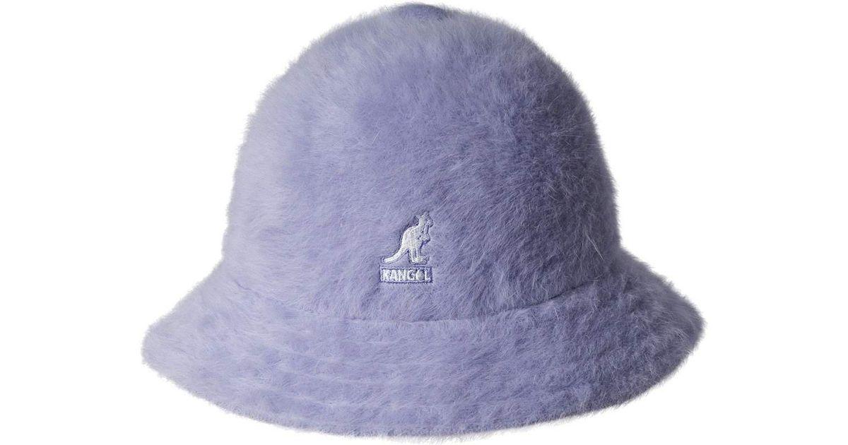 3fb632d914252 Kangol Furgora Casual Bucket Hat in Purple - Lyst
