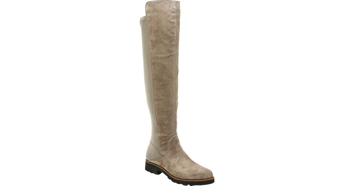 fe8453ed790 Lyst - Sarto Benner Over The Knee Boot